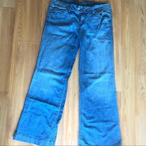American Eagle outfitters wide leg jeans
